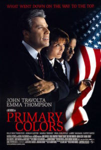 Dinner & A Movie: Primary Colors @ Next Stage | Putney | Vermont | United States