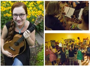 Ukulele-in-a-Day! with Lisa McCormick @ Next Stage |  |  |