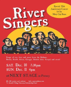 The River Singers 25th Anniversary Holiday Concert @ Next Stage | Putney | Vermont | United States