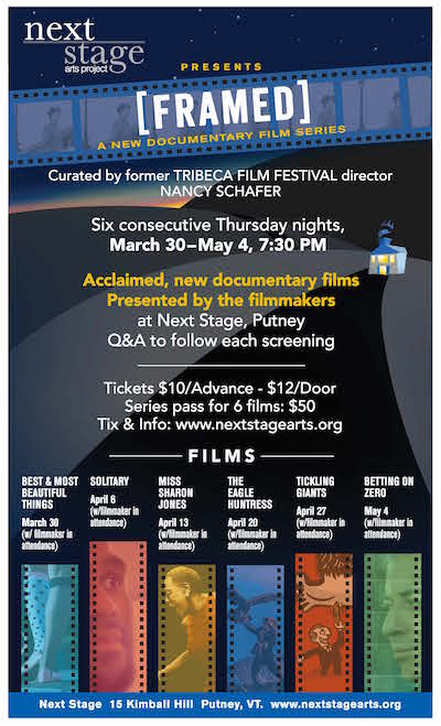 [framed] Documentary Film Series Pass @ Next Stage