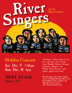 River Singers Holiday Concert! @ Next Stage | Putney | Vermont | United States